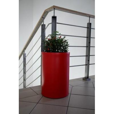 Donica HEBE 50cm  czerwona