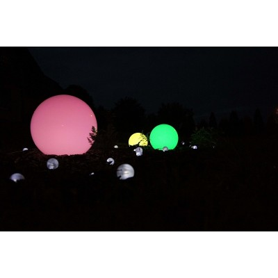 Zestaw kul świecących kolorowo - żarówki z pilotem gratis!